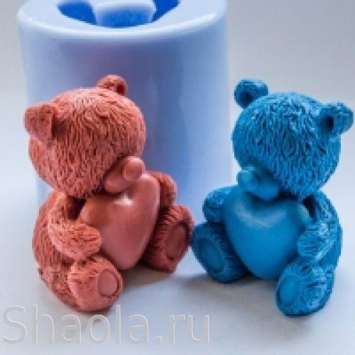 Формы для мыловарения мишки тедди